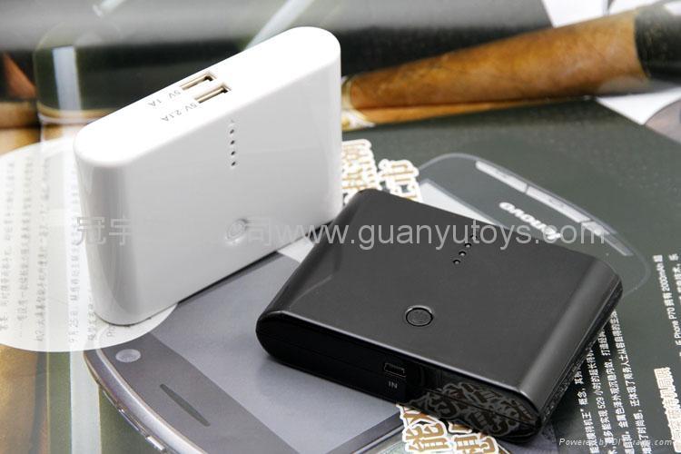 10800mAh便捷馒头移动电源  时尚手机/MP3/MP4充电宝 5