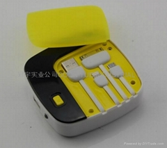 Mini power bank for MP3/MP4/mobile