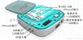 厂家供应高品质大容量聚合物电芯移动电源 5000毫安充电宝 2