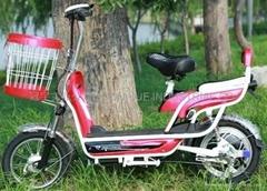 厂家供应实用电动车 14寸电动车 电动自行车 都市精彩电动车