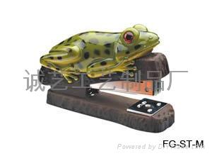 精美青蛙動物訂書機 1
