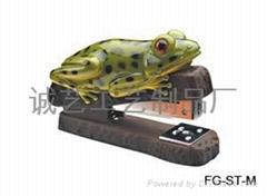 精美青蛙動物訂書機
