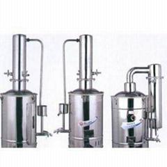 不鏽鋼電熱蒸餾水器純水器,實驗超純水器,超純水機