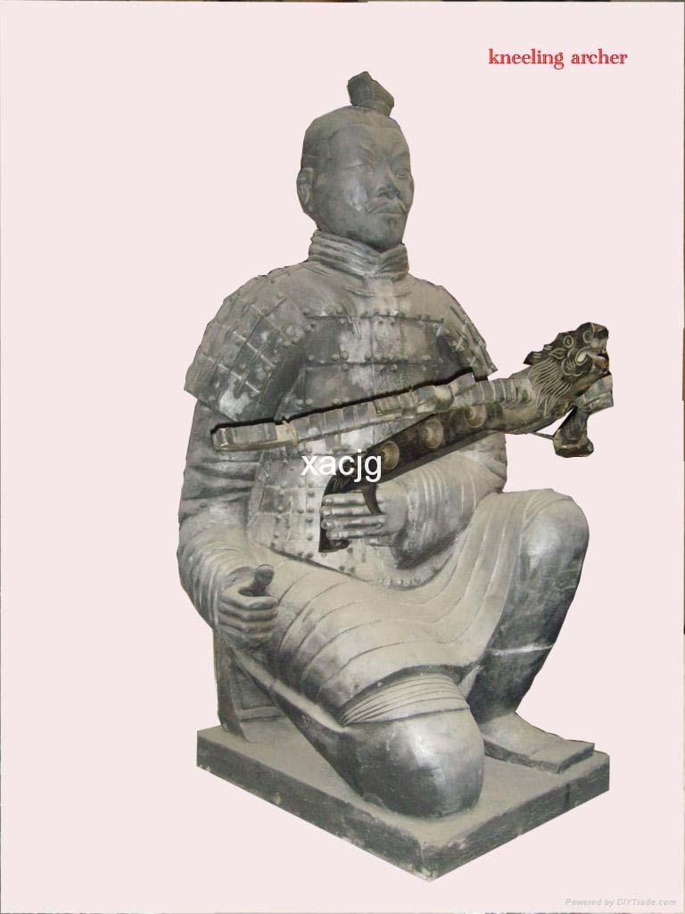 原大-跪射俑 1