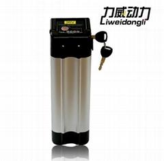 36V10AH小银鱼款锂电池