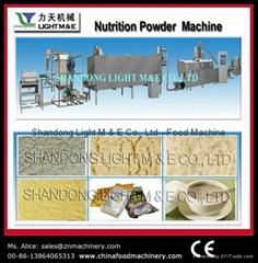 Baby rice powder machine