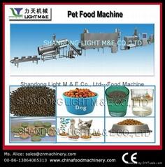 寵物食品生產線