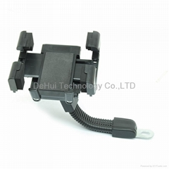 Universal motorcycle phone holder for pda/gps/mobile phone etc