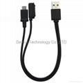 Magnetic 2in1 USB Charger Cable For SONY