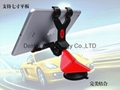 Dual clip car universal mount for tablet pc/smart phone(less than 130mm width)