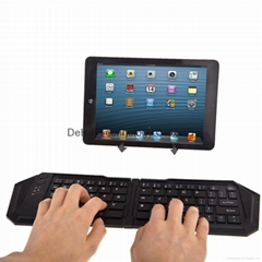 Folding bluetooth keyboard for ipad/Tablet pc(IOS/Windows/Android)