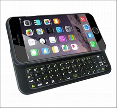 Sliding bluetooth keyboard case for iphone 6(4.7inch)