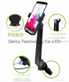 Adjustable universal smartphone mount with 2 USB 3.1A Charger