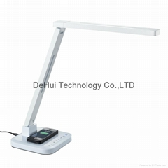 Smart LED Desk lamp with inner qi wireless charger