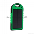 5000mah sport solar power bank Charger, high-quality!