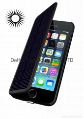 Solar External battery case 2800mah for iphone 6 4.7inch