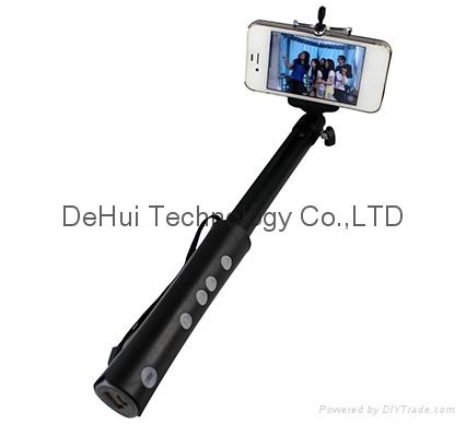 Wireless Self Camera Monopod 3in1 with 2600mah power bank