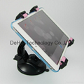 2in1 Universal Tablet PC Car Holder windshield and Backrest mount