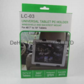 2in1 Universal Tablet PC Car Holder