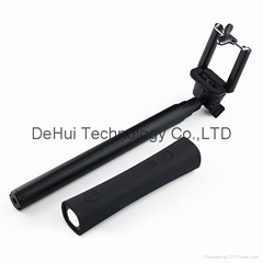 Wireless Self Camera Monopod 3in1 with power bank and led light