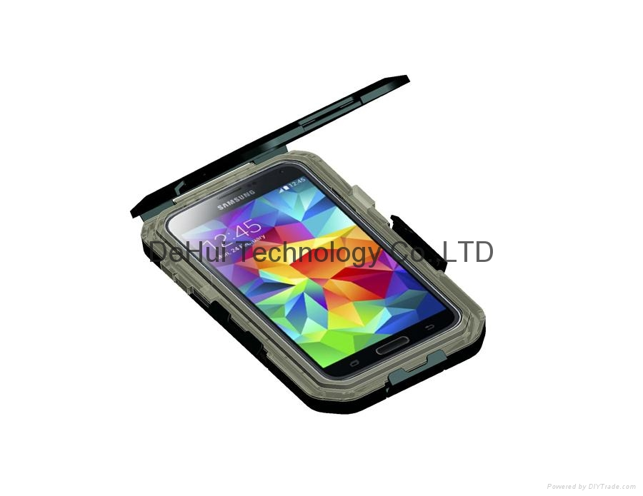 Special waterproof case with bike holder for Samsung galaxy S6/S6 Edge 12