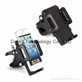 Bicycle phone holder for mobile phone