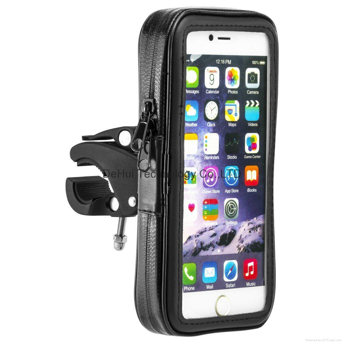 Waterproof bag bike mount for iphone 6 Plus 5.5inch