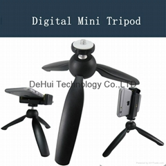 Mini Tripod for Selfie stick & Camera & Cell phone