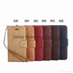 Retro Leather case for iphone 6 or iphone 6 plus