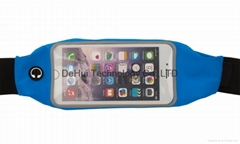 Outdoor sports bag with touch screen for iphone 6 plus