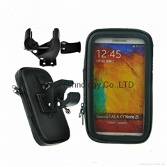 For Samsung galaxy Note 1/2/3/4 waterproof bicycle phone holders