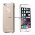 TPU+PC Wireless charger receiver case for iphone 6/6s