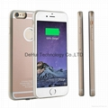 TPU+PC Wireless charger receiver case for iphone 6 plus /6s plus