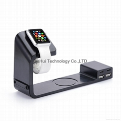 Multi-function charging stand for Smart phone/ Apple watch etc