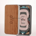 Bamboo 3-Coils Wireless charging charger pad qi standard