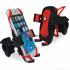 Universal Easy one-Touch bicycle phone holder for iphone 5/iphone 6/samsung/htc