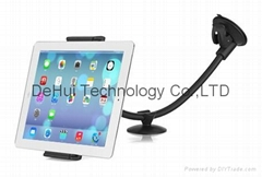 Universal 3in1 Long Arm Car Mount For Smart phone(3.5-5.5inch)/Tables(9-10inch)