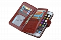 Multi-function leather case for iphone 6/6s