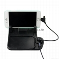 New Car charging cradle Mount Mat with magnetic adsorption 2in1 for Smart phone