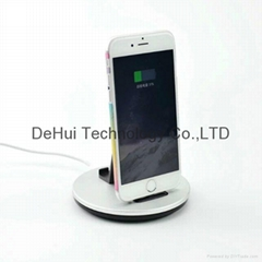 Aluminum charging station with stand 2in1 for iphone 6s/6/6 plus/6s plus/Se etc
