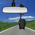 Car Rearview Mirror Mount Cradle for Smart phone/Mobile phone etc 2