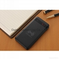5000mah portable power bank with inner wireless chargers for  Smart phone