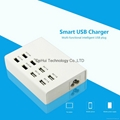 5V 10A(MAX) output 8 USB Smart Charger