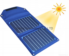 10W Solar Pack with 8000mah power bank for smart phone / cell phone / tablet