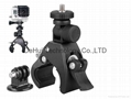 Bicycle clip Mount for hero3+,hero3,hero2  with adapter