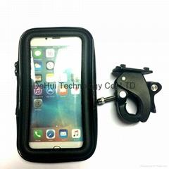 Waterproof case bike mount holder for iphone 6 plus/6s plus, samsung note 2/3/4