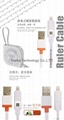 Band Tape 2in1 USB Cable for iphone / Android phones