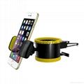 Portable universal adjustable car air vent mount holder 2