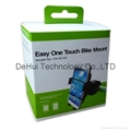 Easy one touch bike phone holder mount for smart phone / iphone / samsung etc