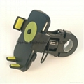 Easy one touch bike phone holder mount